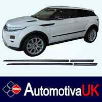 Land Rover Evoque 3D Door Rubbing Strips | Door Protectors | Side Protection Kit