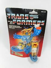 TRANSFORMERS G1 SEASPRAY MINIBOT FACTORY SEALED ON ROUGH CARD MOC 1985 HASBRO