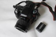Sony Alpha A55 16MP Cámara digital-SLR SLT (Videocámara) + Lente AF Minolta 35-80 mm