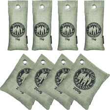 8 x Air Purifying Bags Natural Bamboo Charcoal Home Car Freshener Odor Deodorant