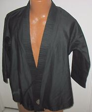 Tiger Claw - Size 1 - Black Karate Student Uniform Top Only - Tc2000 Series
