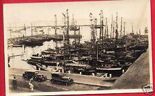 Rppc Yachts Sailboats Boats Harbor Marina Old Cars Men Rp Postcard