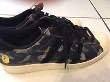 A Bathing Ape X Undefeated X Adidas Superstar 80v Size 9.5 BAPE NMD