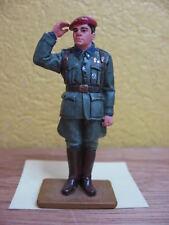 FIGURINE DEL PRADO SOLDAT LIEUTENANT VOLONTAIRE ESPAGNOL RUSSIE 1942 ESPAGNE