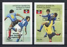 s6176) ANTIGUA & BARBUDA 1989 MNH** WC Football'90 - CM Calcio S/S WINNERS