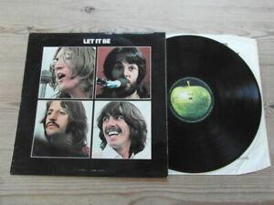 THE BEATLES-LET IT BE-APPLE PCS 7096- VG VG+ VINYL LP ALBUM 1970