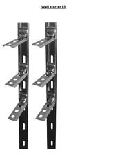10 x wallstarter kit stainless steel