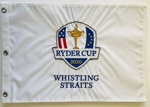 2021 Ryder Cup golf flag 2020 whistling straits championship embroidered pga new