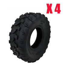 4x 4PR 19x7-8 Tubeless 8 inch FRONT Tyre Suit ATV Quad Bike/Buggy/Ride on Mower
