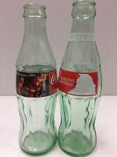 Vintage Pair Of Christmas Coca-Cola Bottles Jl 030117a