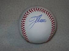 JIM THOME SIGNED AUTOGRAPHED MLB MANFRED BASEBALL INDIANS PHILLIES WHITE SOX #2
