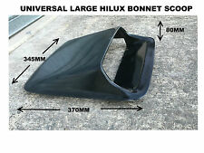 HILUX STYLE LARGE MOUTH BONNET SCOOP
