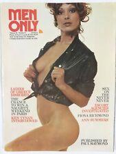Vintage Men Only Magazine August 1974