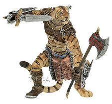 FREE SHIPPING | Papo 38954 Tiger Man Mutant Warrior Fantasy - New in Package