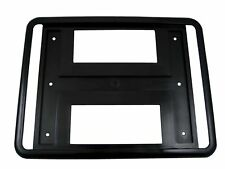 "Black Rear Number Plate Surround Square Type 8x11"" Licence Enregistrement 4x4 JDM"