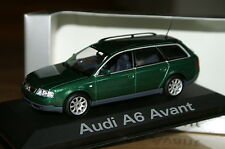 1:43 AUDI a6 avant c5 Green Racing Vert MINICHAMPS 8 2.0.5.3.4.s6 TDI QUATTRO