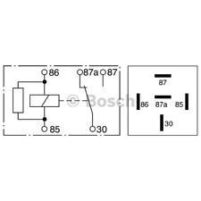 Relais - Bosch 0 332 209 206