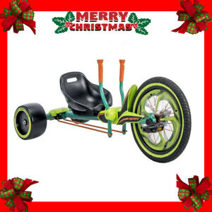Huffy Green Machine 16 Inch 40cm Trike Dual Stick Steering Free Shipping AU