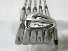 Used Titleist AP2 714 Forged Iron Set 5-P Project X Firm Flex Steel Shafts