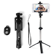 Extendable Bluetooth Remote Shutter Tripod Selfie Stick For iPhone 7 Samsung S7