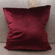 Pillow Covers Cases Solid Colors Luxury Velvet Cushion Cover Decorative 15Colors