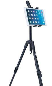 Deluxe iPad Pro / iPad / iPad Mini / Tablets Tripod Mount + Deluxe Tripod Combo