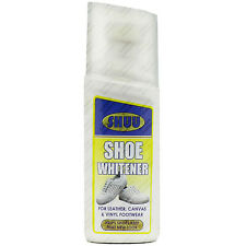 50ml Shoe Whitener Sports Footwear Polish Trainer Shine Restorer New Clean Look