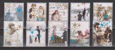 NVPH Nederland Netherlands used 2296-2305 Decemberzegels year 2004 Pays Bas