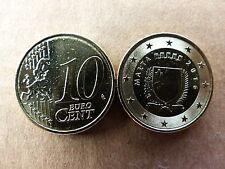 Pièce monnaie MALTE MALTA 10 CENT 2016 NEUVES NEW UNC