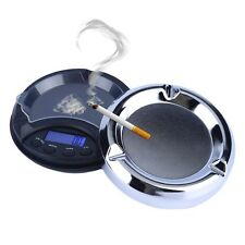 200g/0.01g Digital Precision Pocket Scale Ash Tray Style Weighing Scales UL