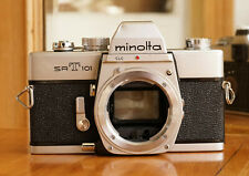 Minolta SRT101 SLR 35mm camera in good condition