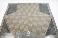 DC Comics 3 Way 3 Sided 3 Player Chess Board from Eaglemoss