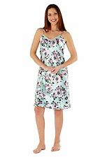 Floral Knee Length Cami, Strappy Women's Lingerie & Nightwear