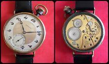 REVUE-pocket watch turned by wrist-vintage mechanical manual-cal.53-jumbo-47mm-