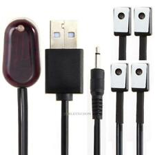IR Extender 1 Receiver 4 Emitter Repeater Infrared Remote USB Adapter For TV DVD