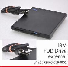IBM Unidad de disquete Thinkpad 600 770 85k8874 FDD interno EXTERNAMENTE bien