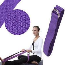 Adjustable 180CM Sport Yoga Stretch Strap D-Ring Belt Gym Leg Waist Fitness