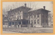 Childs Real Photo Postcard RPPC - Soldier's Home Veteran LaFayette Indiana