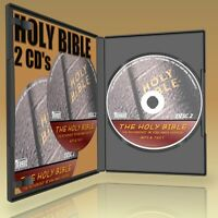 BEST KING JAMES VERSION HOLY BIBLE OLD + NEW TESTAMENTS MP3 AUDIOBOOKS +TEXT NEW