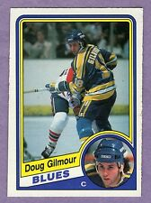 1984-85 OPC Doug Gilmour Rookie St. Louis Blues #185