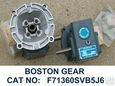 BOSTON GEAR SERIES 700 SPEED REDUCER F71360SVB5J6 NEW