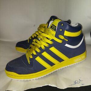 Adidas Top Ten Hi Men's 10.5 Blue/Yellow EUC