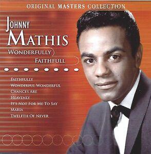 Johnny Mathis - Wonderfully Faithfull   New 2-cd  Christmas music