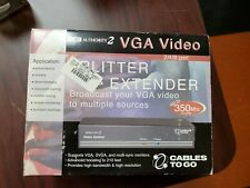 VGA Splitter and extender broadcast your VGA video to multiple sources
