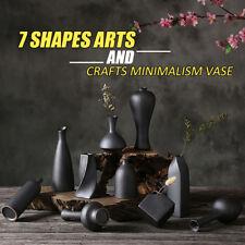 Porcelain Flower Ceramic Vase Home Office Decoration Art Crafts Style Vas
