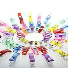 New 100pcs Jumbo Wonder Clips Fabric Clamps for Craft Sewing Quilting Binding