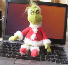 New Dr Seuss How the Grinch Stole Christmas  Santa Hat Plush Toy Gift