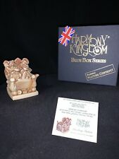 Harmony Kingdom 'Smoking Section' Signed Blue Box Series Two Figures