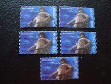 NORVEGE - timbre yvert et tellier n° 1296 x5 obl (A30) stamp norway