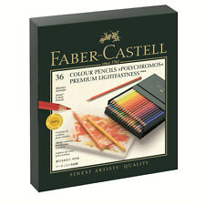 Faber Castell Polychromos Finest Artist Pencil Gift Box Set of 36 Pencils
